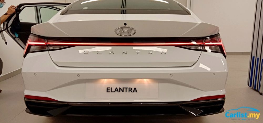 2020 Hyundai Elantra CN7 Rear