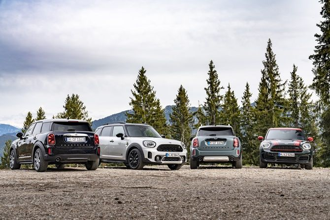 Will MINI Still Be Fun To Drive When They Are All Electric Countryman Exterior