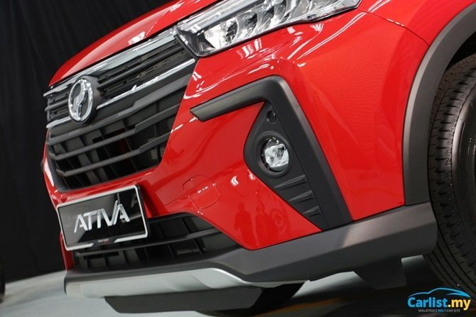 What Segment Does The Perodua Ativa Belong To Front Grille