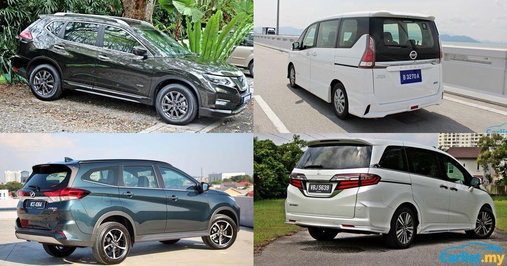 2020 MPV VS SUV - Honda Odyssey, Nissan Serena, Perodua Aruz