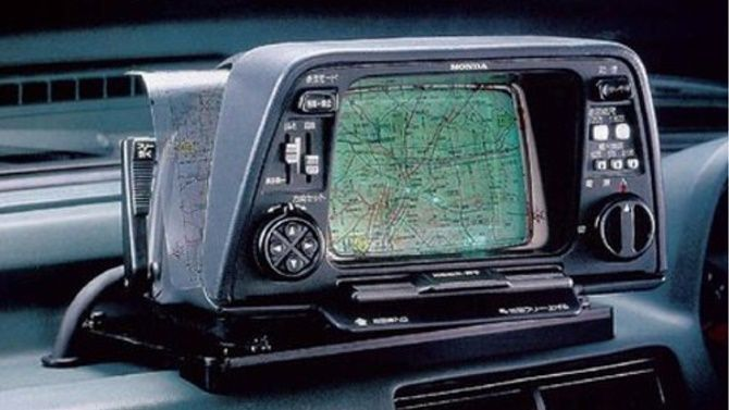 The Evolution Of Head Units And Navigation In Cars Primitive GPS Honda