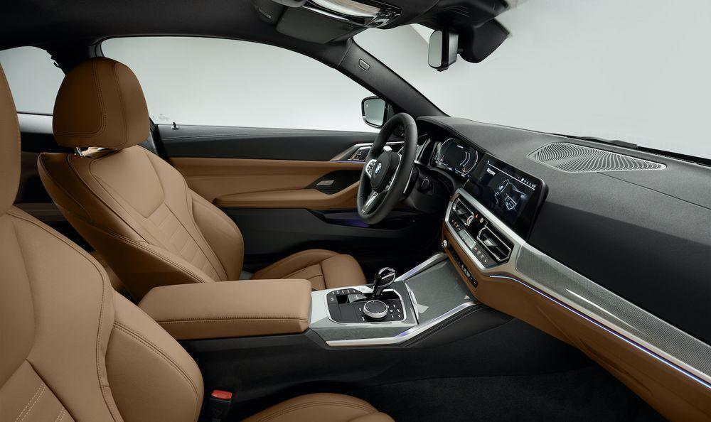 2021 BMW 430i interior