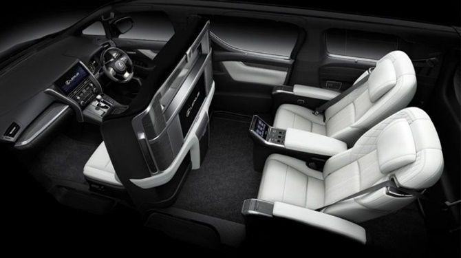 Lexus LM350 Open For Booking Ultimate Luxury Four Seater Interior