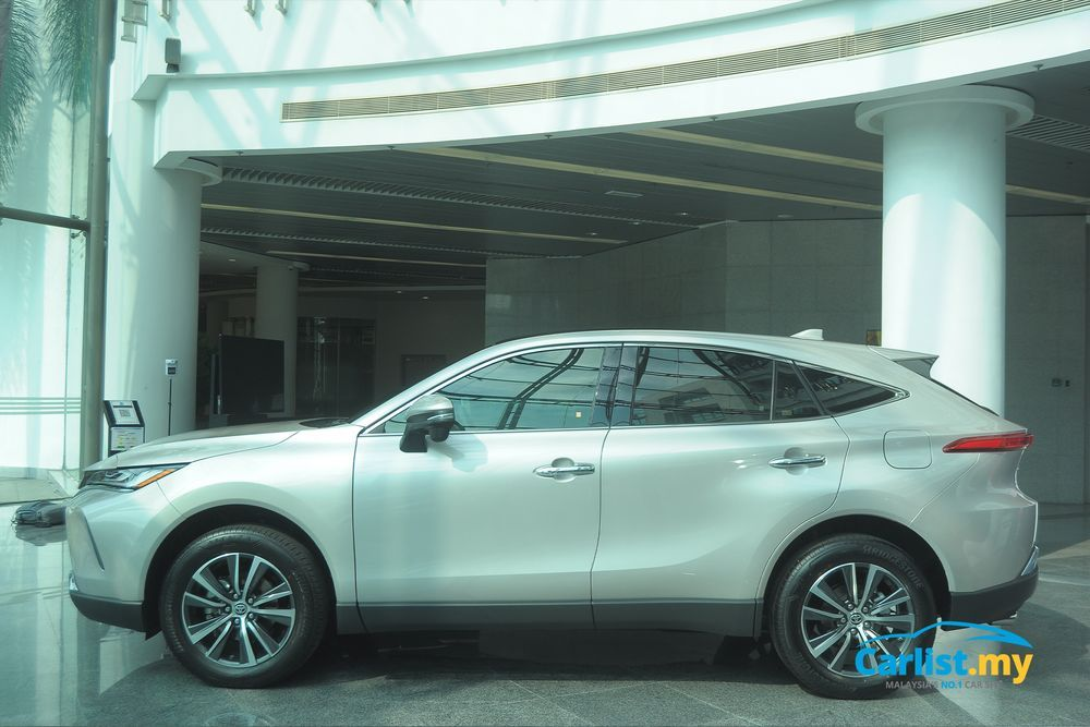 Toyota Harrier 2021,Malaysia,side view