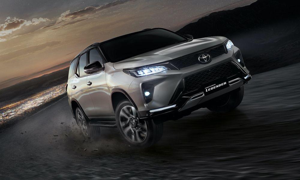 2020 Toyota Fortuner - Thailand