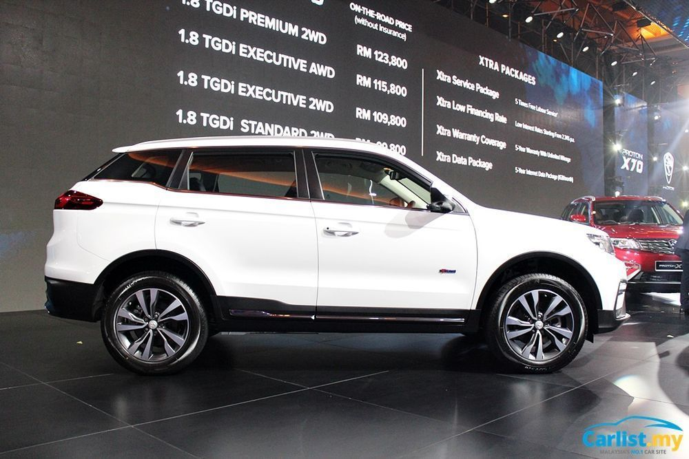 Proton X70,SUV,Geely,Masalah Alat Ganti