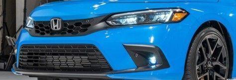 2022 Honda CIvic hatchback grille