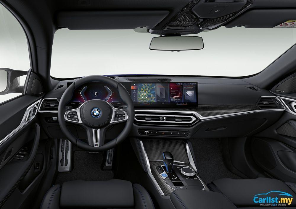 2021 BMW i4 M50 interior