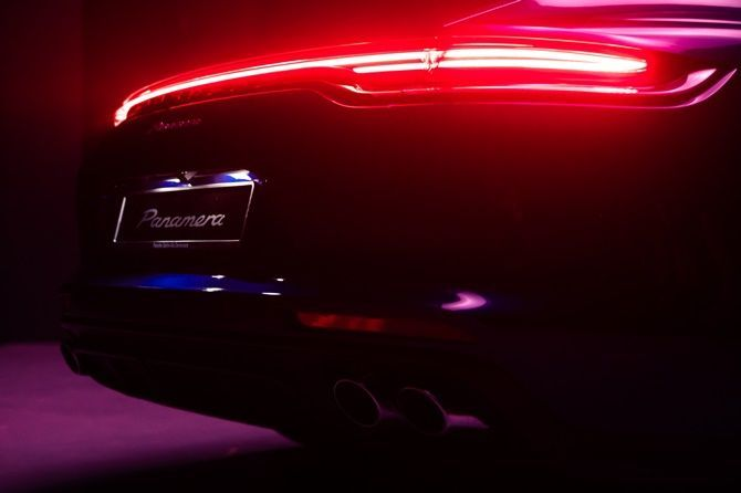 New Porsche Panamera Launched In Malaysia From RM 1026735 Rear Lights