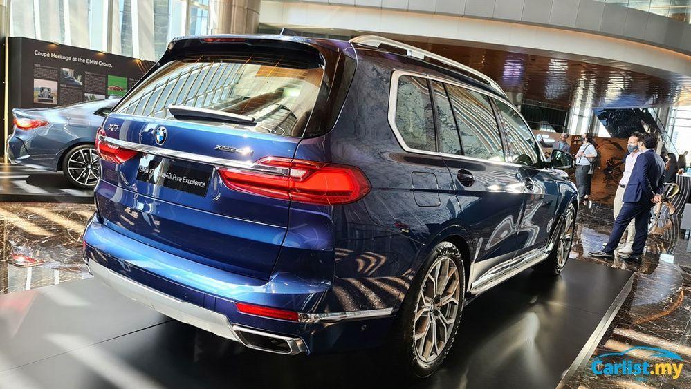 2021 BMW X7 xDrive40i Exterior