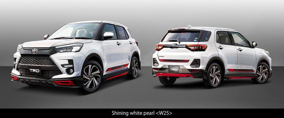 TRD body kit, Toyota Raize, perodua ativa 2021, d55l