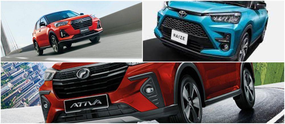 DRL Toyota Raize, Perodua Ativa, Daihatsu Rocky