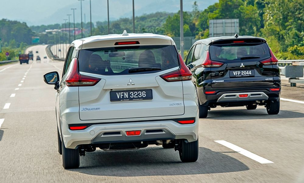 2020 Mitsubishi XPANDER rear view