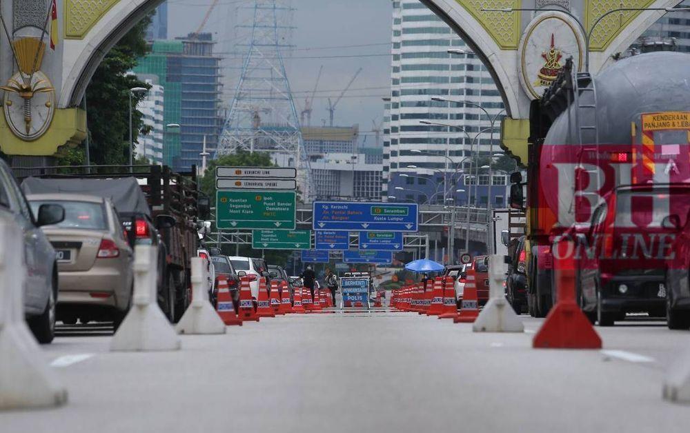 Roadblocks Lockdown June 2021