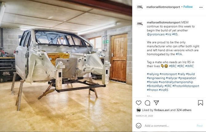 Can You Make A Proton Iriz R5 Yourself Chassis Instagram