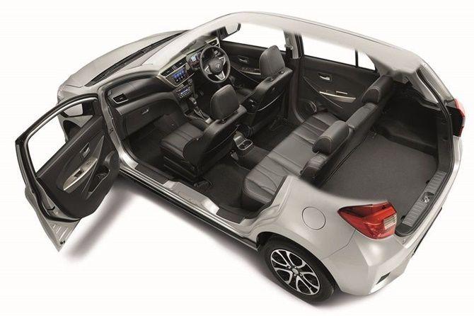 Perodua Myvi Cutaway Third Gen