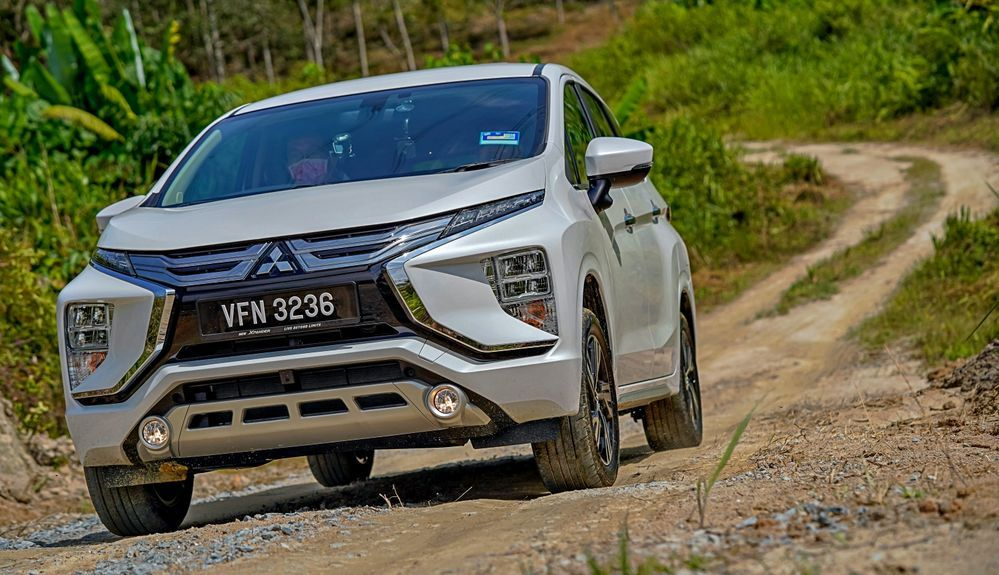 2020 Mitsubishi XPANDER off-road