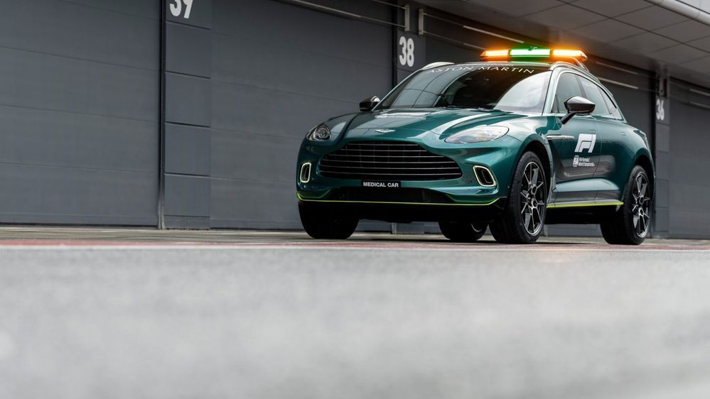 Aston Martin DBX F1 medical car