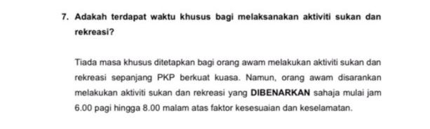 KBS,aktiviti sukan,pkp 3.0