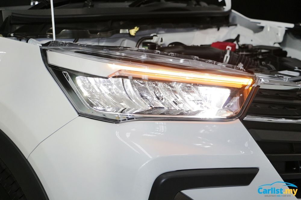 2021 Perodua Ativa Sequential turn signals