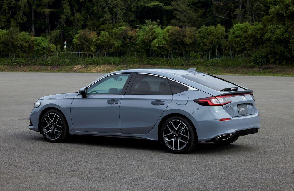 2022 Honda Civic Hatchback rear view