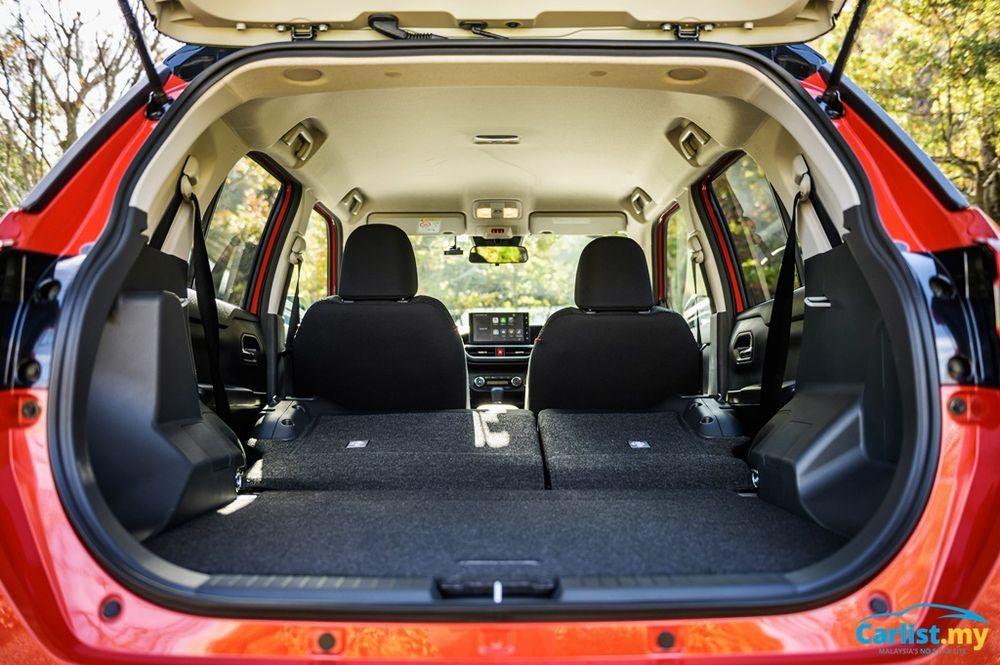 2021 Perodua Ativa First Drive boot