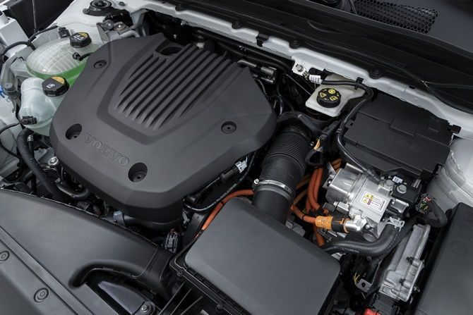 Volvo Is Probably Launching The XC40 Recharge T5 PHEV Here Soon Engine Bay