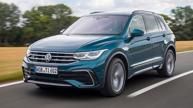 Volkswagen To Unveil Facelifted Tiguan Allspace Tiguan Facelift