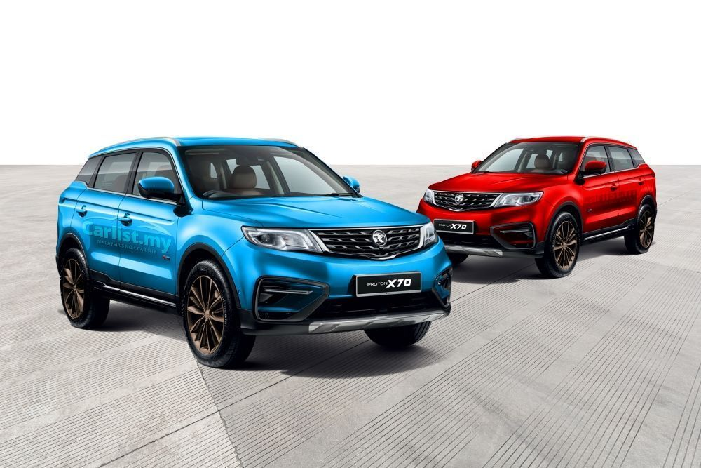 Proton X70 SE,Special Edition,Ocean Blue,PAssion Red,SUV,X50