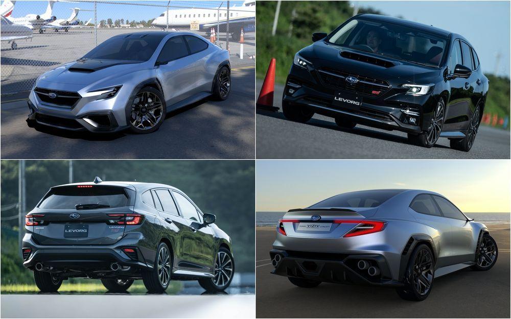 Subaru Levorg - Viziv Performance Concept
