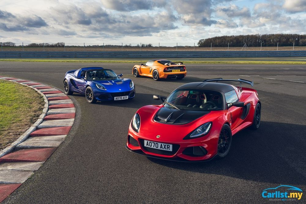 Lotus Elise, Evora and Exige