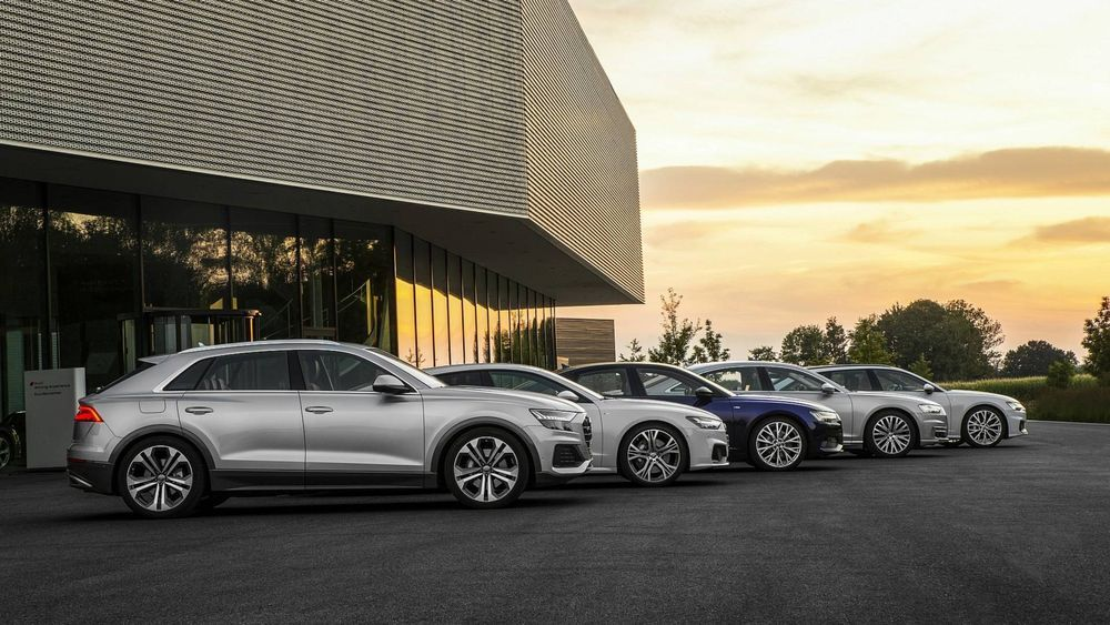 Audi Family of cars