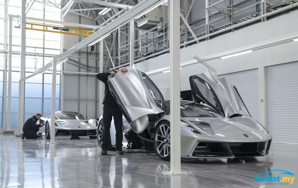 Lotus Evija Manufacturing