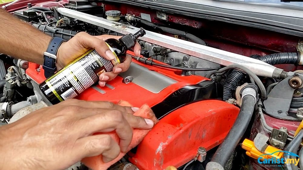 DIY ENGINE CLEAN 101 - PROTECTANT
