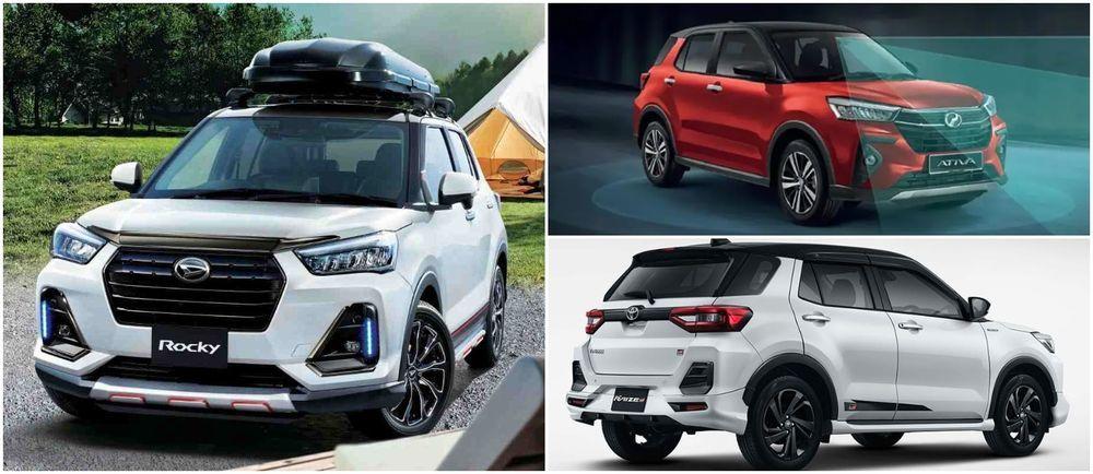 Perodua Ativa, Daihatsu Rocky, Toyota Raize drivetrain