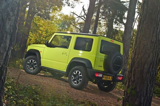 Five Reasons Why People Want The New Suzuki Jimny Right Now Rear Three Quarter Static