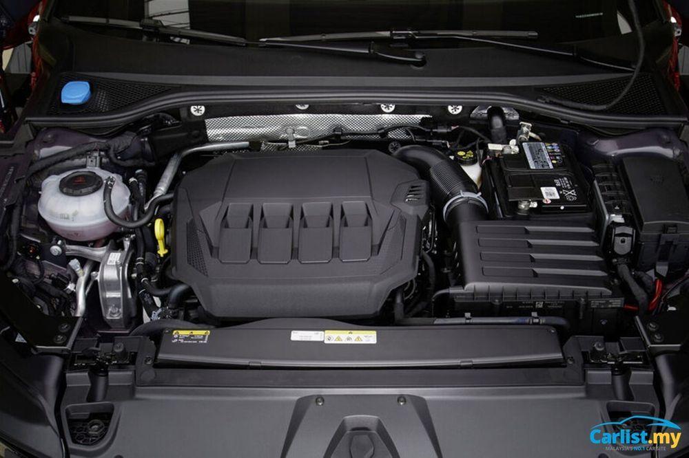 2021 Volkswagen Arteon R-Line 4Motion engine