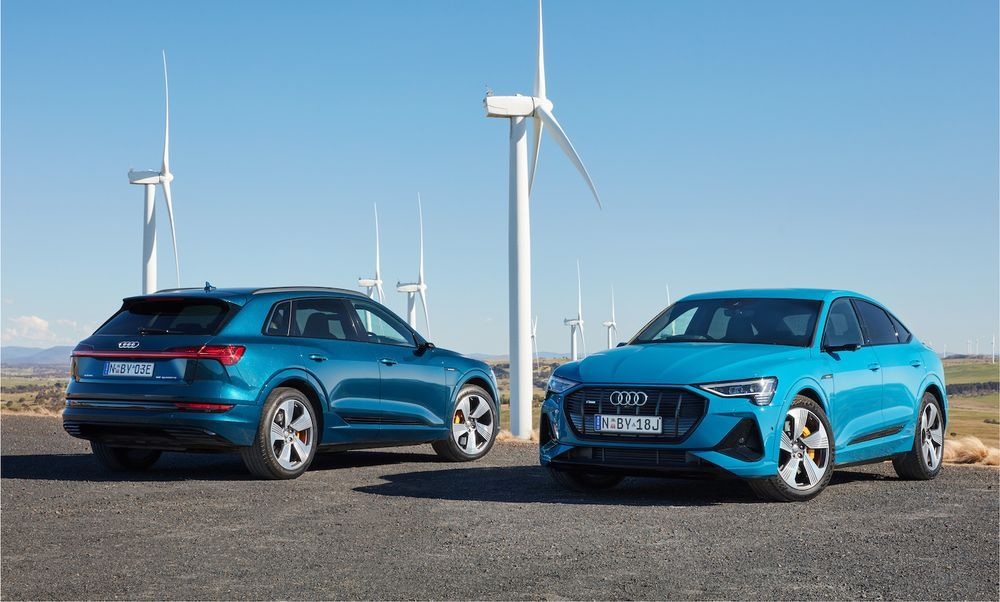 Audi e-tron, e-tron Sportback