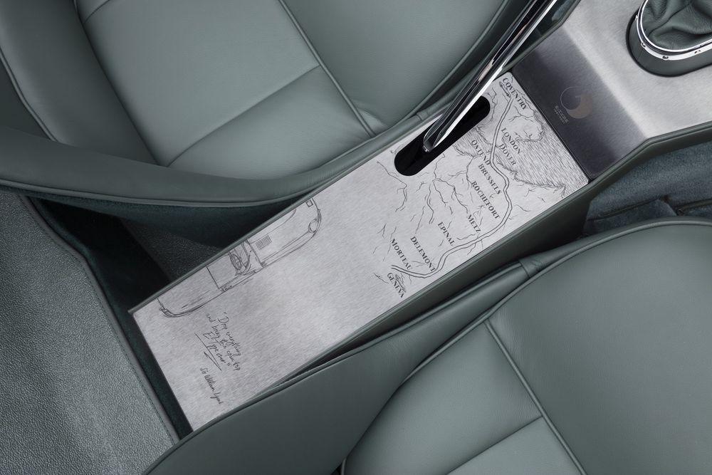 Jaguar E-type 60 Anniversary Roadster Coupe King Nerd Inscription