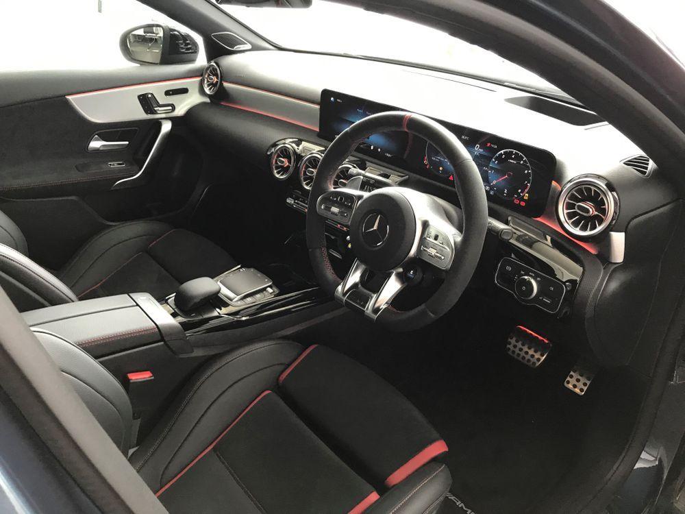 Mercedes-AMG A45 S 4MATIC+ interior