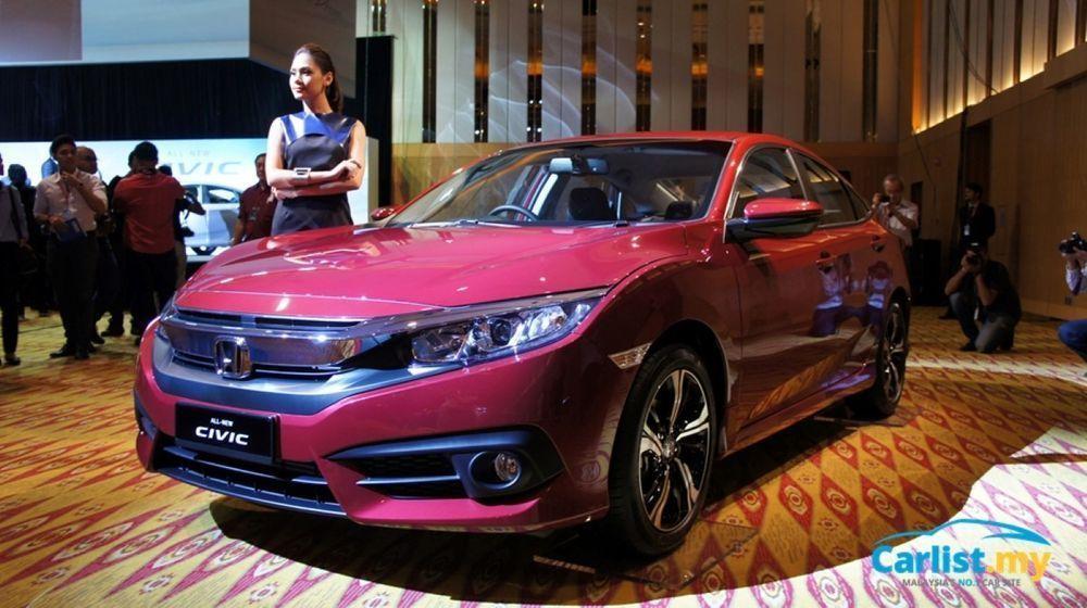 2016 Honda Civic 1.5 TC-P