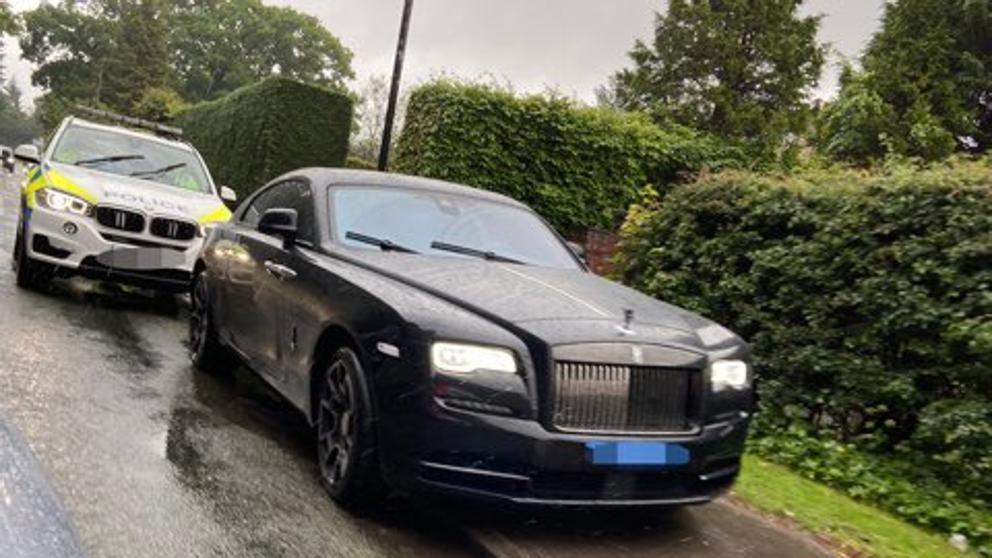 Paul Pogba Rolls Royce Waith