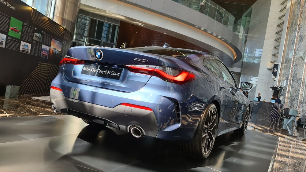 BMW 430i Coupé M Sport 2021, malaysia