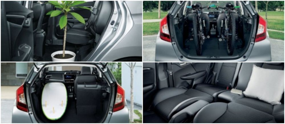 Honda Jazz, Ultra seats