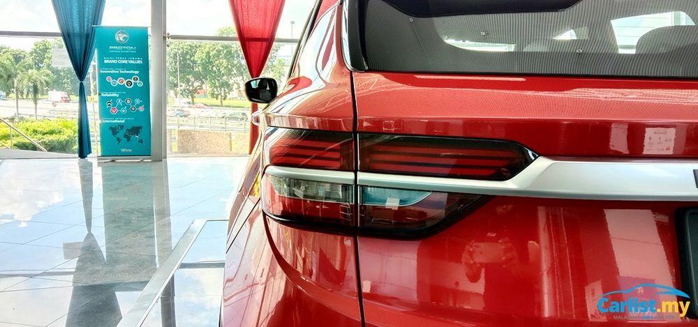 2020 Proton X50 Premium Taillights