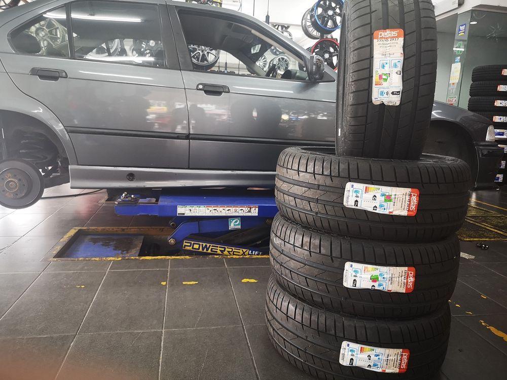 Tyre alignment