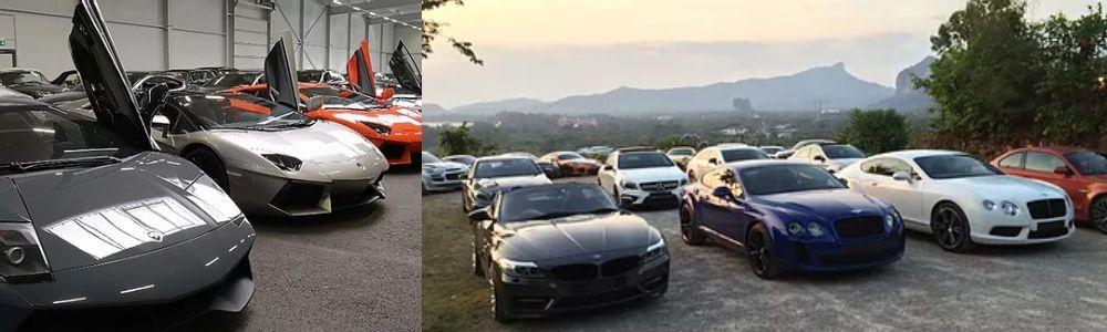 supercar,kereta mewah,langkawi,bebas cukai, pendaftaran,murah