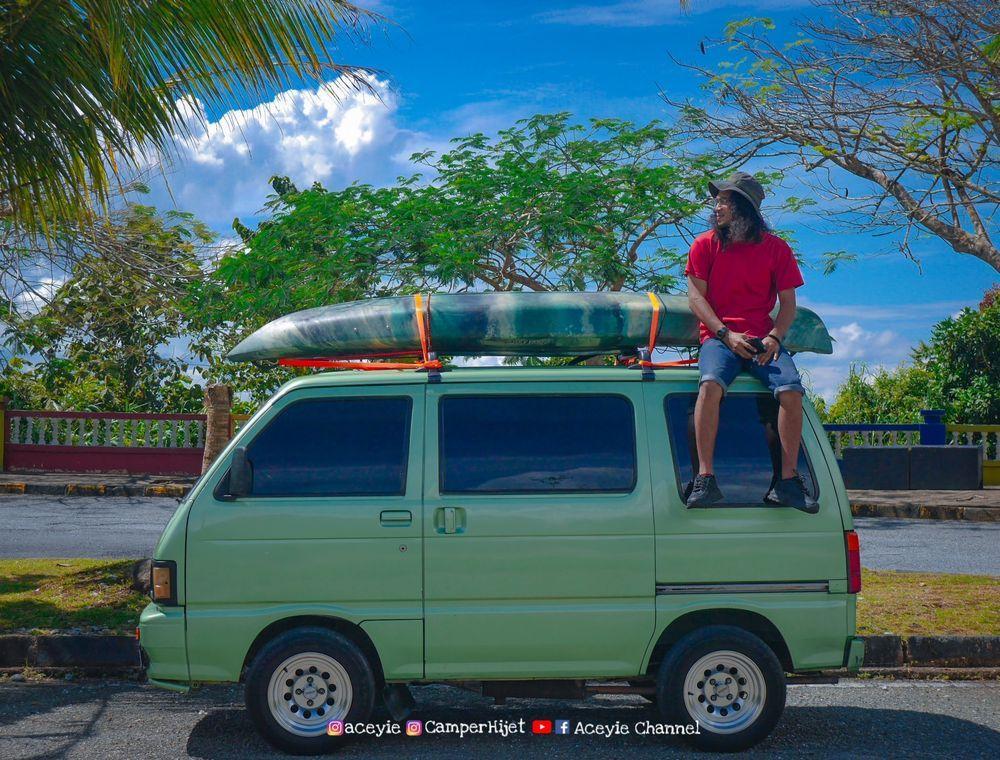 daihatsu hijet s85 minivan, DIY, campervan, malaysia