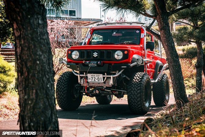Five Reasons Why People Want The New Suzuki Jimny Right Now NATS Jimny Adventure