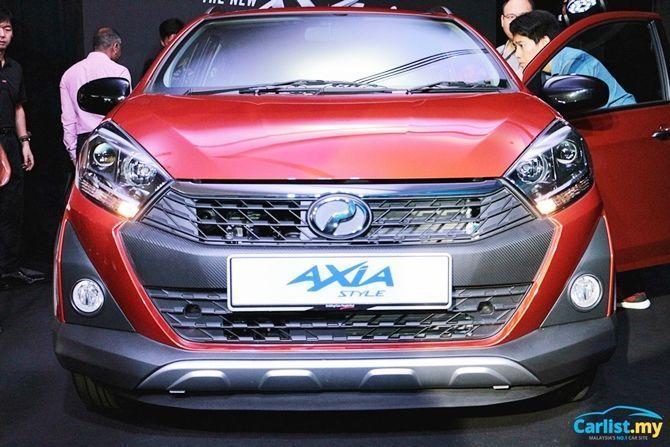 PErodua Axia,hatchback,Axia Style